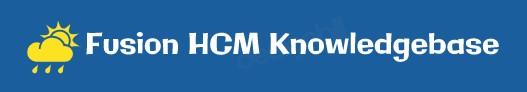 Fusion HCM Knowledgebase Logo