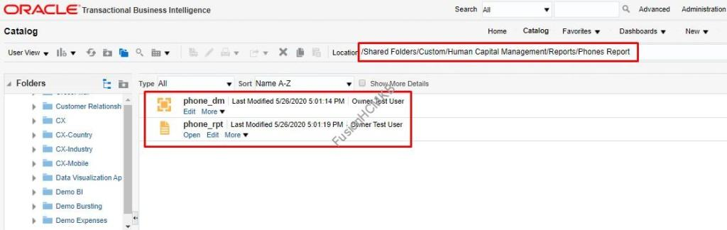 BI Reports migration in fusion hcm. Archive and Unarchive BI Reports in Fusion HCM