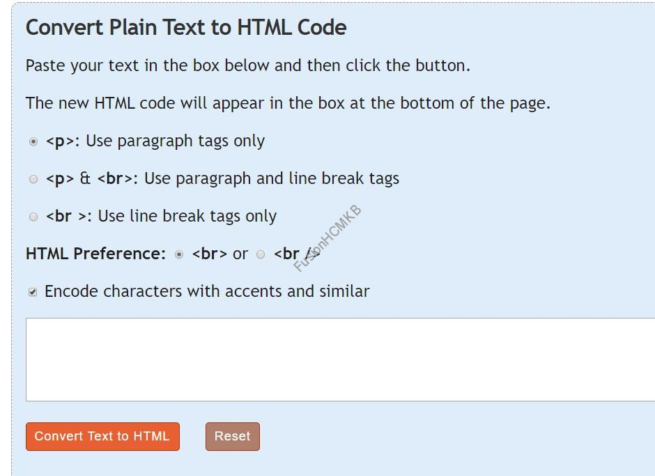 Text to HTML in fusion hcm hdl tool