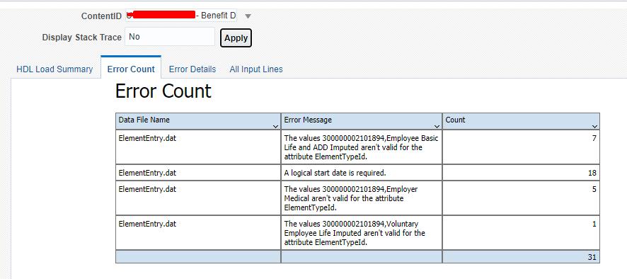 hdl error count