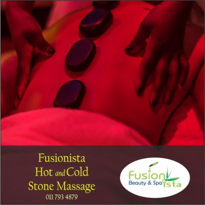 Fusionista, Spa, Super Spa, Hot and Cold Stone Massage, best of, Randburg, Johannesburg