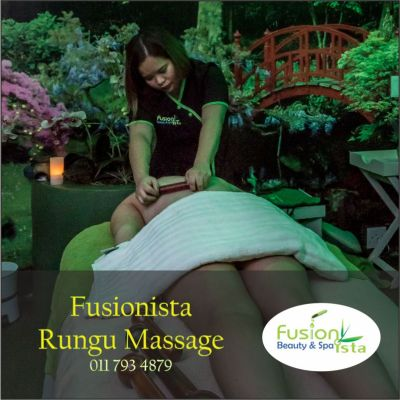 Fusionista, Spa, Super Spa, Rungu Massage, best of, Randburg, Johannesburg