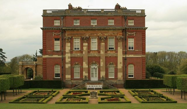 Clandon Park House - the former seat of the Onslow family