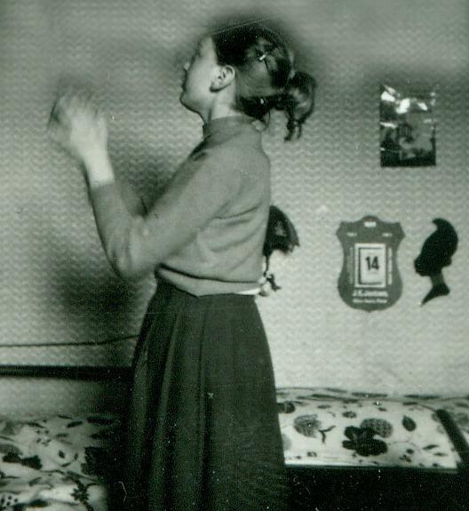 Soveværelse anno 1950