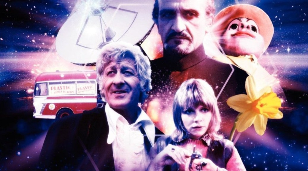 Terror of the Autons DVD Cover