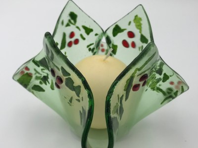 Holly Berry Votive