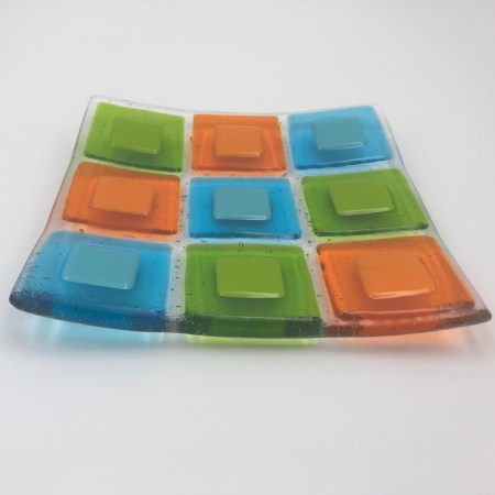 Basics I: Saturday, December 12th  9am-12pm — Glass Fusing Basics 1 – Get Started with Tack Fusing!