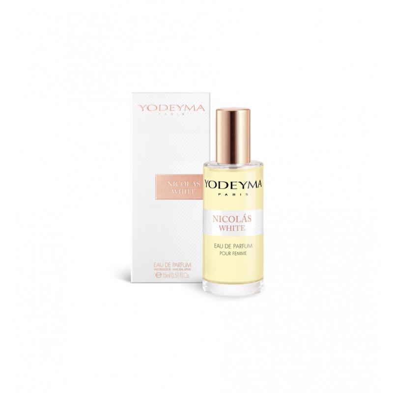 yodeyma nicolas white fragrance bottle 15ml