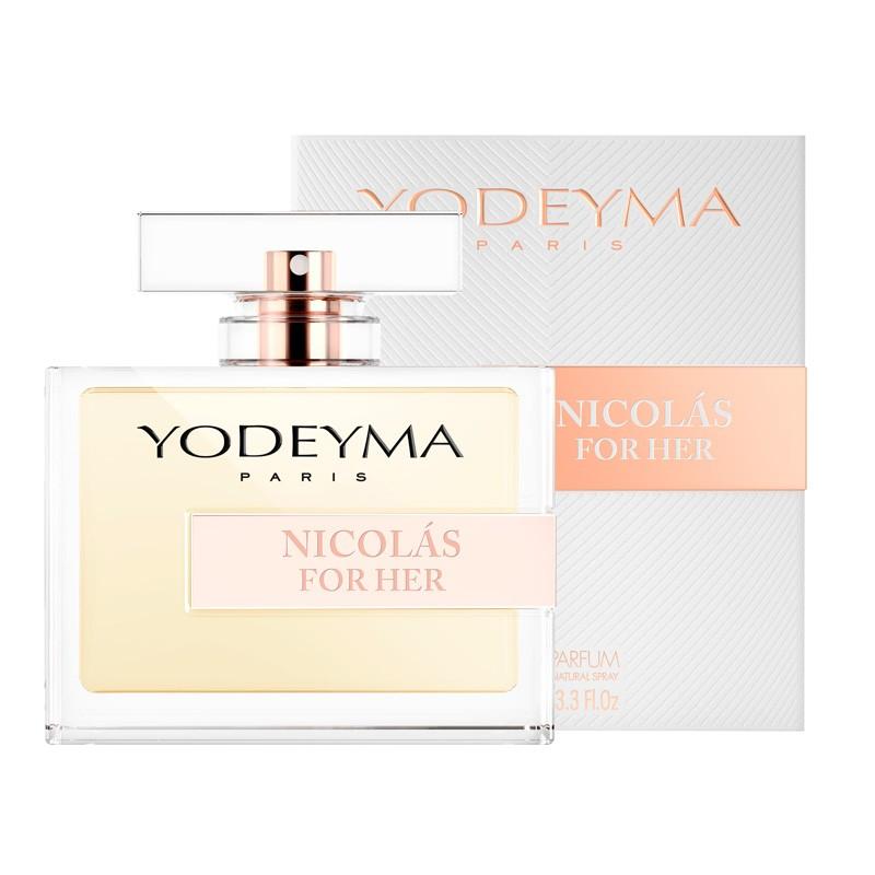 yodeyma nicolas for her fragrance bottle 100ml