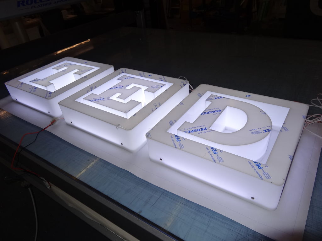 Custom Signage for T.E.D