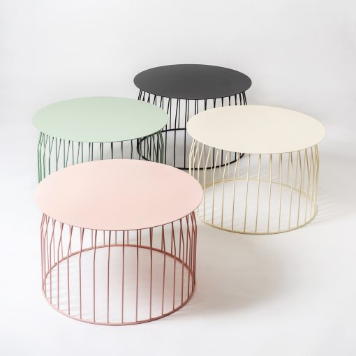 metal wire coffee side table 4 colours
