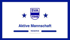 SVA Aktive Reserve Termin