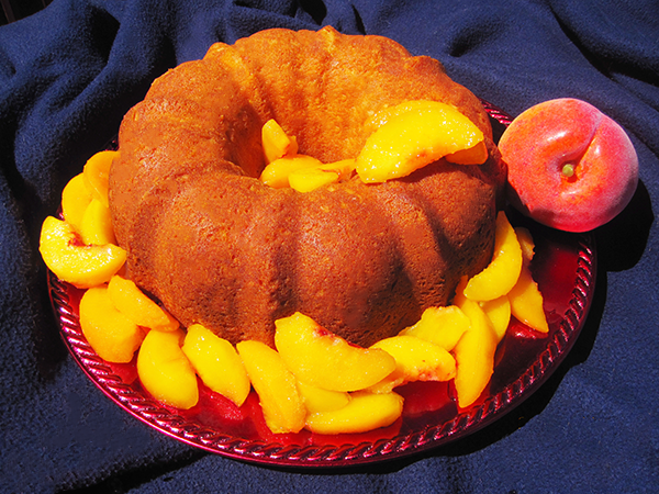 The Sassy Peach Fussell Cake
