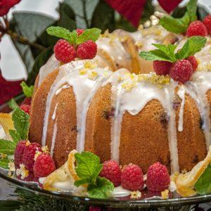 Fussell Cake Company White Chocolate Raspberry