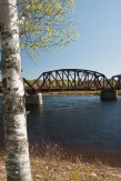 Old Railway bridge, Doaktown, New Brunswick