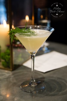 Russell Hobbs The K1 cocktail - gin, lime juice, cucumber and tea infused dill syrup