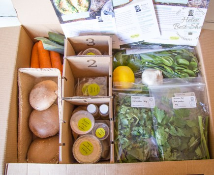 Riverford meal box detail