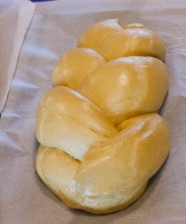 Advanced bread baking at River Cottage - brioche plait