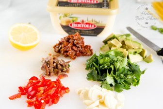 A speedy pasta flavoured with garlic, anchovy, chilli and avocado. Perfect for mid week meals.