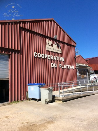 The co-operative dairy where Comte is made