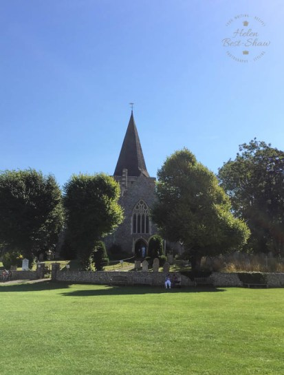 The pretty East Sussex Village of Alfriston