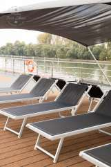 On deck on Riviera Cruises MS Jane Austen