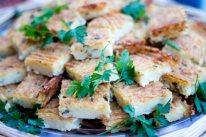 Food of Tinos more cheesy bites