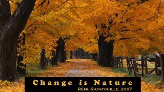 change is nature