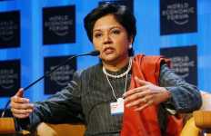Indra Nooyi the CEO of PEPSI Co.