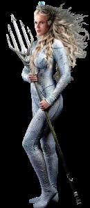 Aquaman Queen Atlanna Nicole Kidman Character with trident
