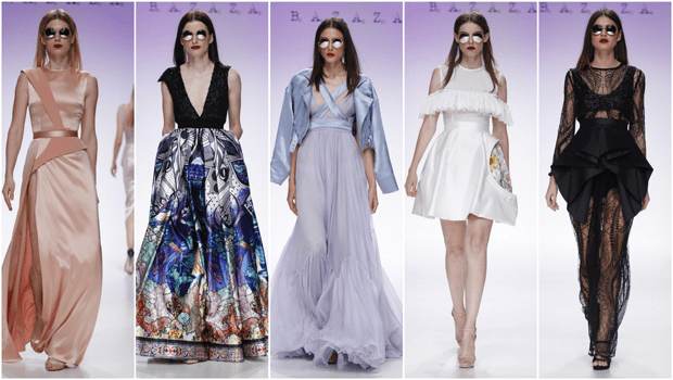 Hussein Bazaza Presentes a Unique Collection at Fashion Forward Dubai