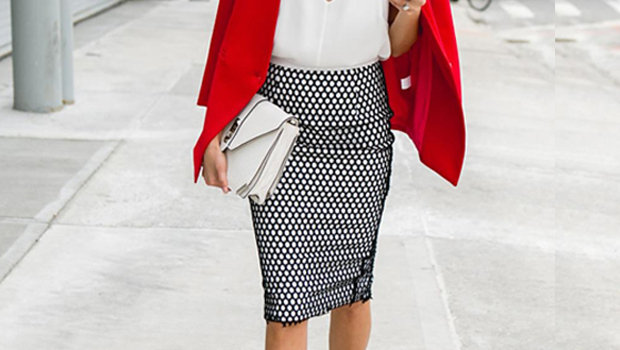 Three Different Ways To Wear Your Pencil Skirt