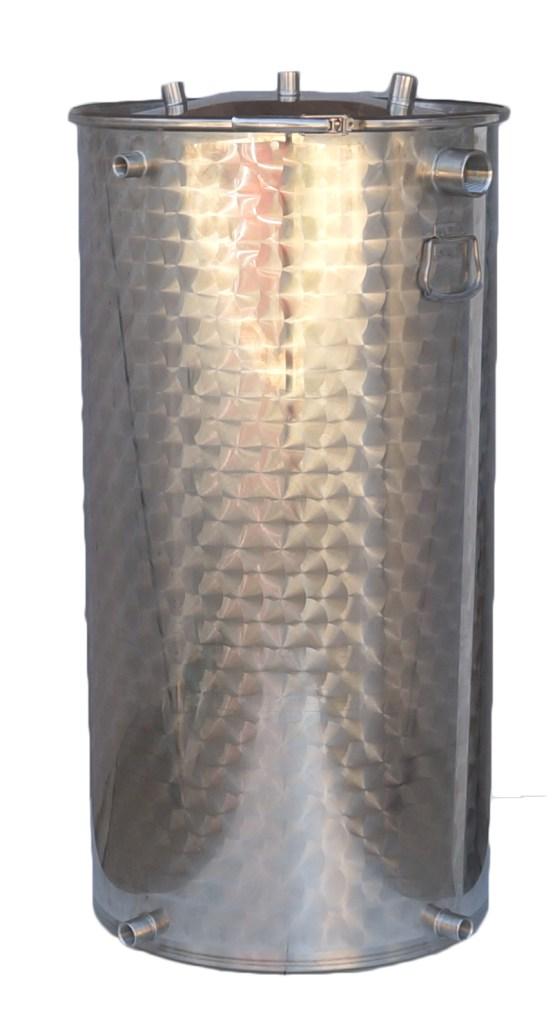 25 à 600 litres + 7 piquages - 10/10 ème - INOX 304L