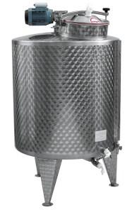 CUVE + melangeur LENT 600/1000 L