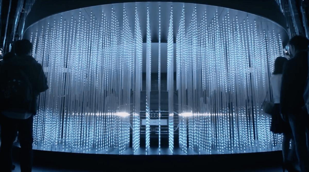 tokyo motor show 2017 audi ai installation futa kera