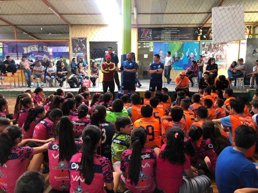 el club ad alcorcón explicando las pruebas draft