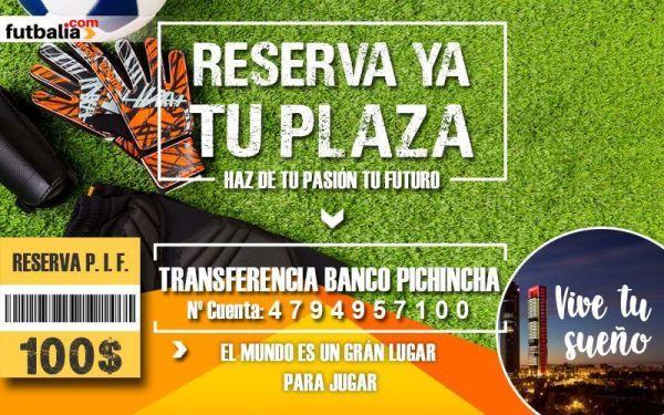 RESERVA PIF futbalia formación de futbolistas en España