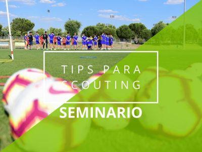 CURSO ONLINE TIPS PARA SCOUTING