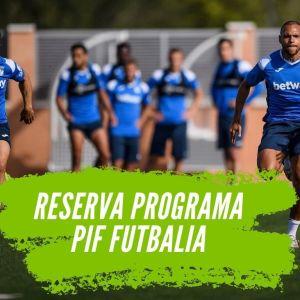 reserva programa pif jugadores fútbol
