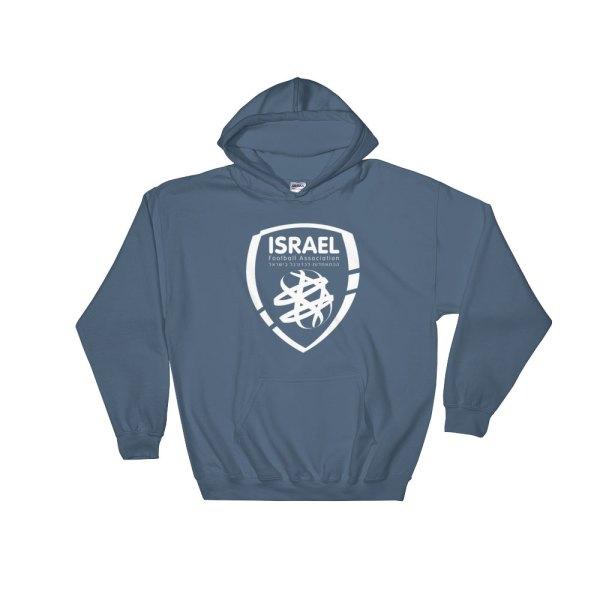 Israel National Soccer Team Men's Hoodie - Futball Designs