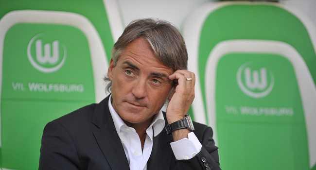 Manchester's Italian headcoach Roberto M