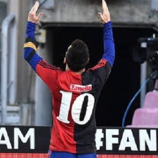 Лионель Месси посвятил гол Марадоне
