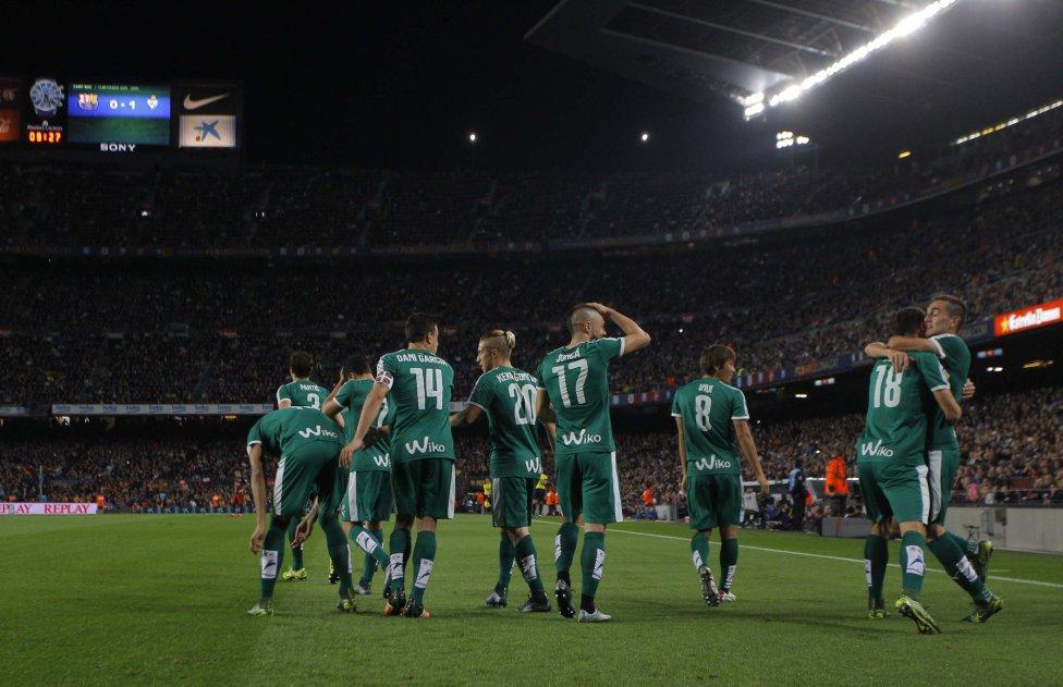 Las imágenes del Barcelona-Eibar