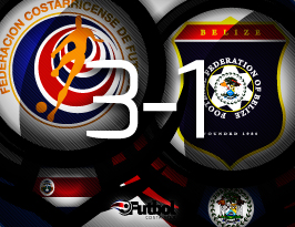 Con las dos victorias, los costarricenses llegaron a seis puntos, los requeridos para clasificar.