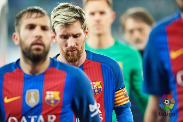 La ofensiva barcelonista pasa por Lio Messi. Foto: LaLiga