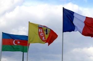 La bandera de Azerbaiyán también ondea en La Gaillette en honor a Mammadov