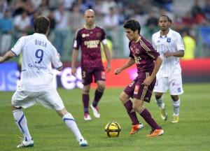 Enzo Reale el día de su debut.