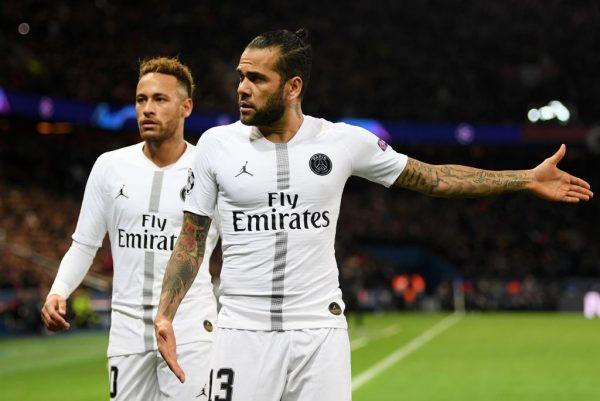 ¿Seguirán Dani Alves y Neymar juntos en el PSG?
