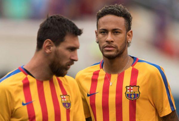 Messi Neymar PSG