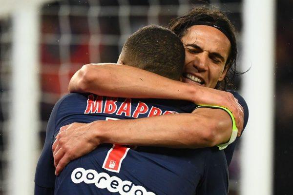 Cavani Mbappé PSG